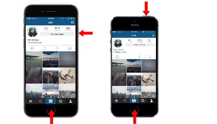 как в инстаграме репостнуть фото скриншот