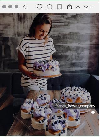 идеи для фото в Инстаграм - сладости и товар