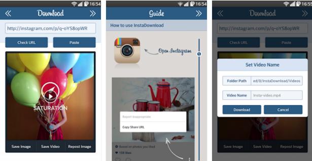как скачать фото с инстаграма на телефон андроид в Insta Download