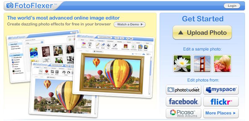 инстаграм фильтры онлайн как в инстаграме FotoFlexer