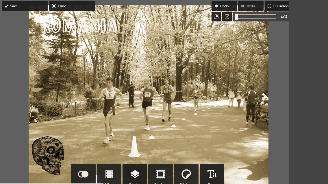 обзор онлайн редактор фото Инстаграм с эффектами