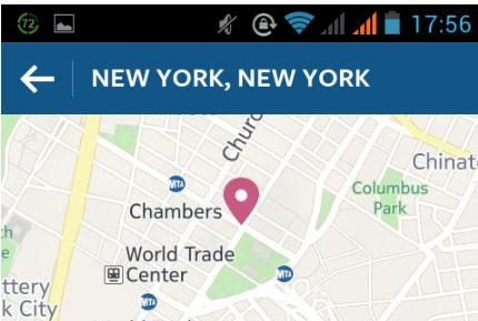 поиск в инстаграме на карте