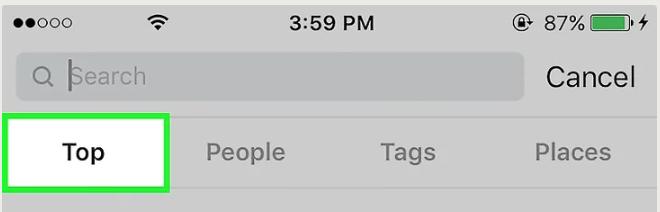 как можно удалить в Инстаграме историю поиска