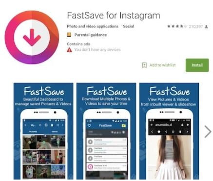 инструкция как сохранить видео на телефон с Инстаграма