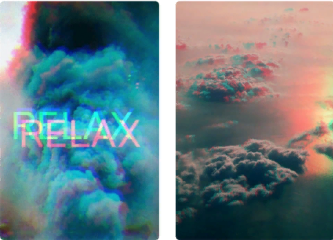 фото эффект цветные каналы для фотографии в инстаграме