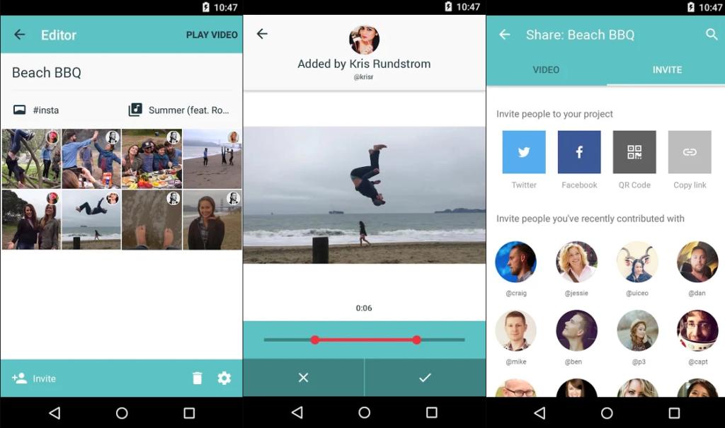приложение MixBit для редактирования видео в инстаграм
